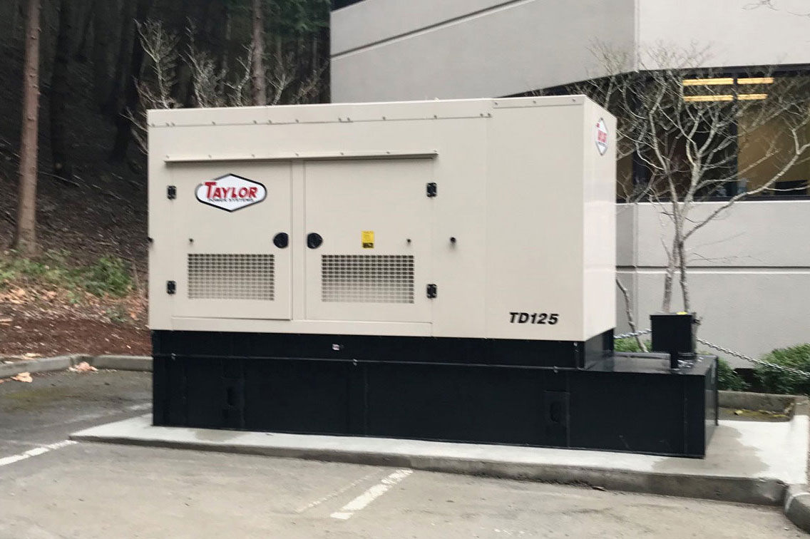 Bellevue Office Park 125 kW Diesel